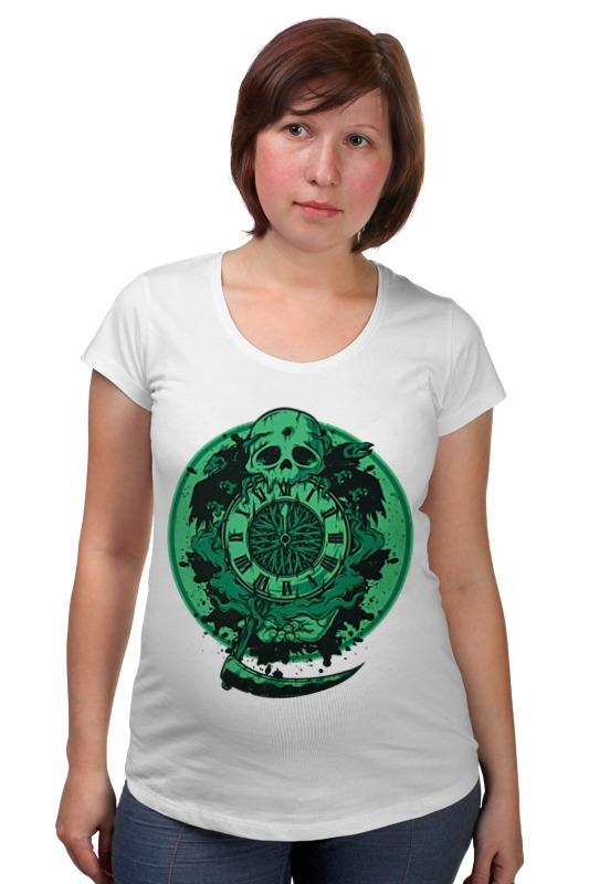 Футболка для беременных Printio Skull art футболка для беременных printio html5