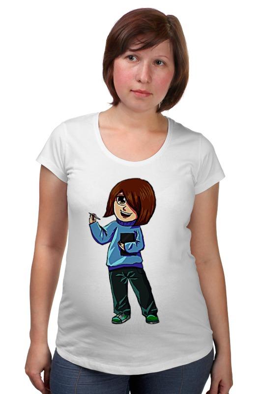 Футболка для беременных Printio Девочка художник футболка для беременных printio россия украина