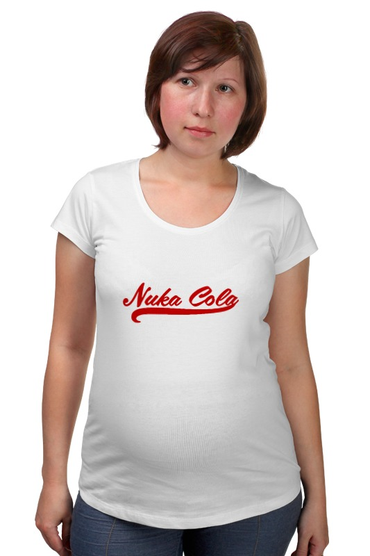Футболка для беременных Printio Nuka cola (fallout) футболка классическая printio fallout фэллаут