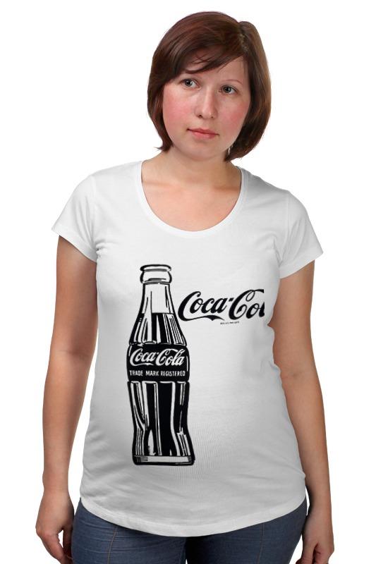 Футболка для беременных Printio Кока-кола (coca-cola) блок глюкоза конфеты кола 42г