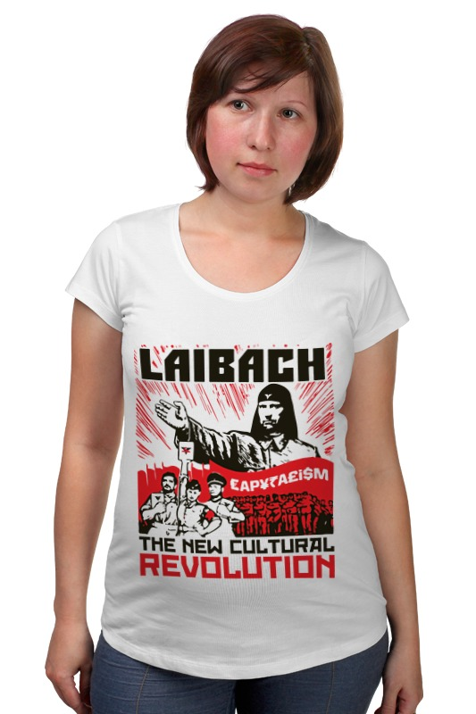 Футболка для беременных Printio Laibach / the new cultural revolution толстовка wearcraft premium унисекс printio laibach the new cultural revolution
