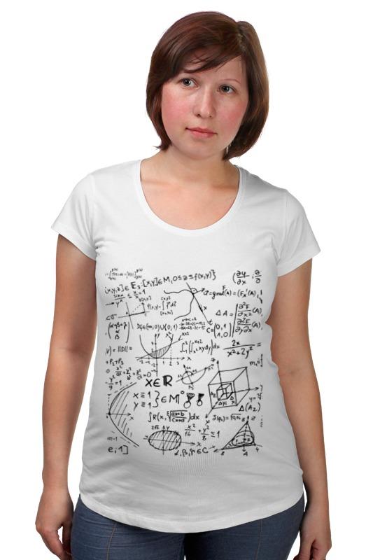 Футболка для беременных Printio Математика, физика, формулы елена александровна власова олимпиада школьников шаг в будущее математика физика