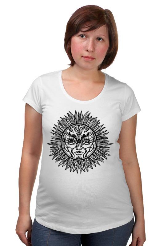 Футболка для беременных Printio Символ солнца футболка для беременных printio elements of harmony