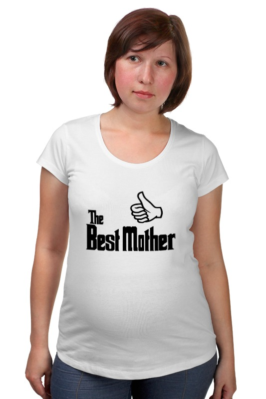 Футболка для беременных Printio Лучшая мама (best mother) футболка для беременных there is only a good mother 00031 2015