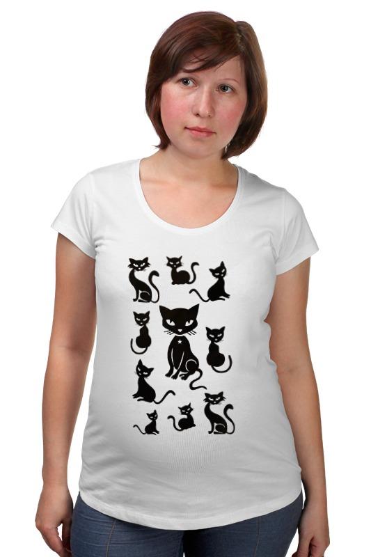 Футболка для беременных Printio Кошки футболка для беременных printio кошки