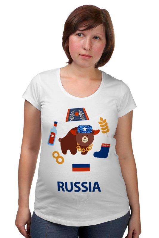 Футболка для беременных Printio Россия (russia) футболка для беременных printio крым россия