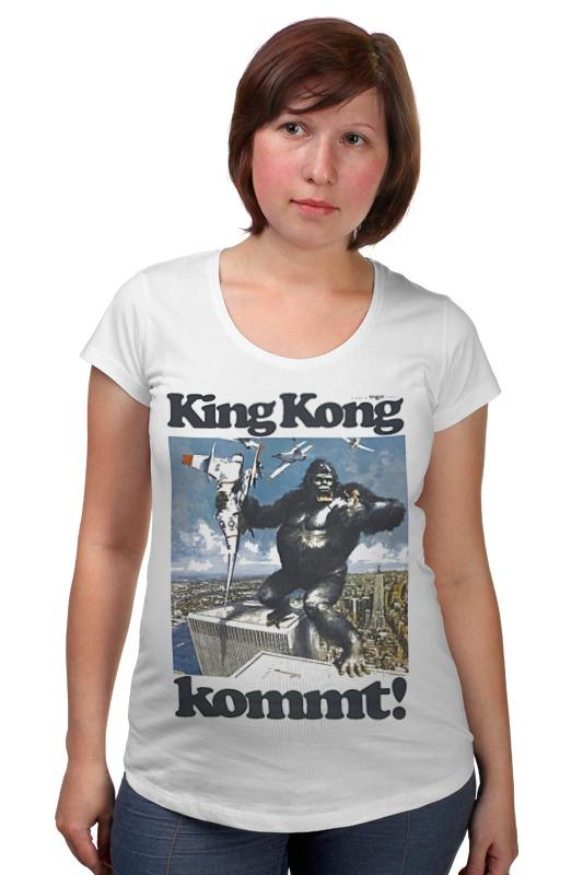 Футболка для беременных Printio King kong футболка стрэйч printio kong is king кинг конг