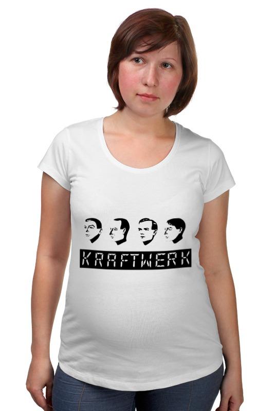 Футболка для беременных Printio Kraftwerk футболка для беременных printio kraftwerk
