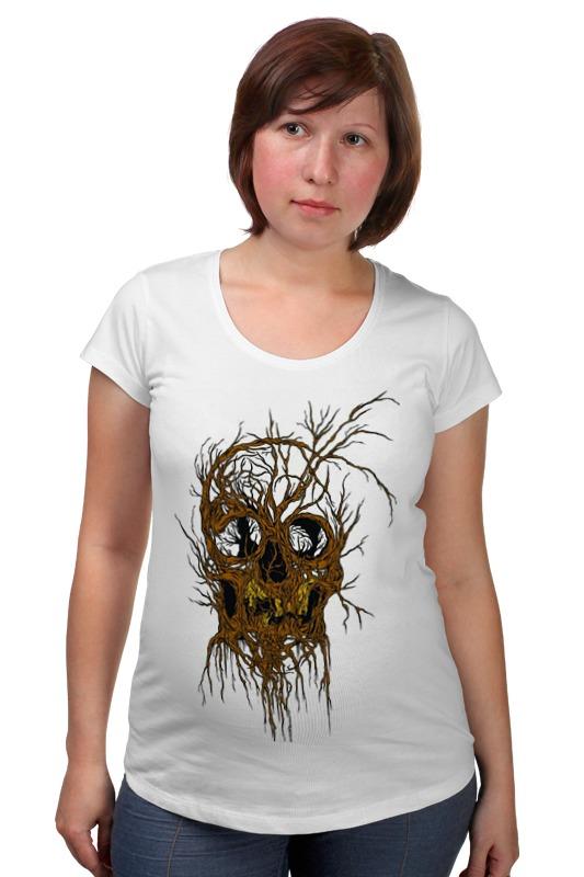Футболка для беременных Printio Skull art футболка для беременных printio россия украина