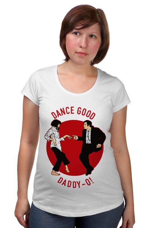 Футболка для беременных Printio Dance good (pulp fiction) футболка для беременных there is only a good mother 00031 2015