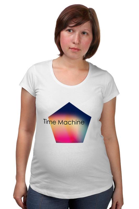 Футболка для беременных Printio Time machine футболка toy machine leopard brown
