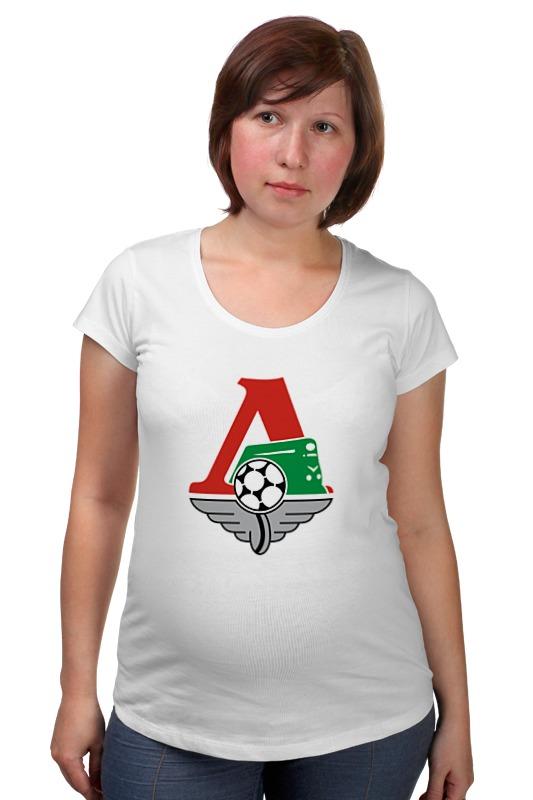 Футболка для беременных Printio Локомотив футболка для беременных printio хозяин морей