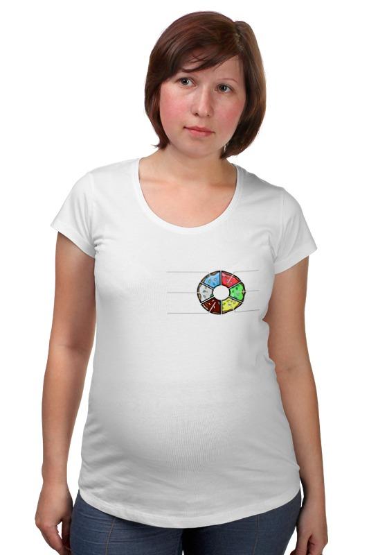 Футболка для беременных Printio Пончик симпсоны спрингфилд игра как пончики