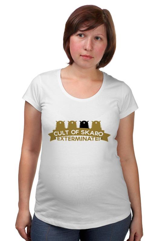 Футболка для беременных Printio Футболка мужская cult of skaro футболка для беременных printio elements of harmony