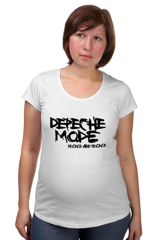 Футболка для беременных Printio Depeche mode футболка для беременных printio россия украина