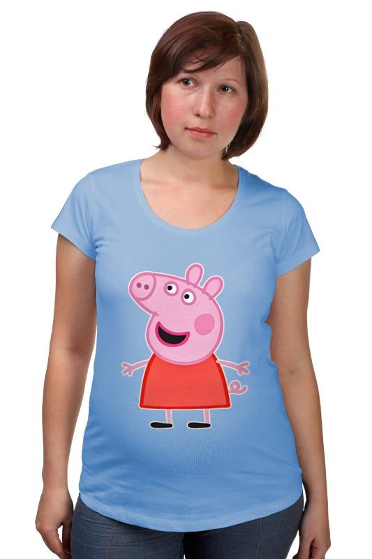 Футболка для беременных Printio Свинка пеппа футболка для беременных printio свинка пеппа
