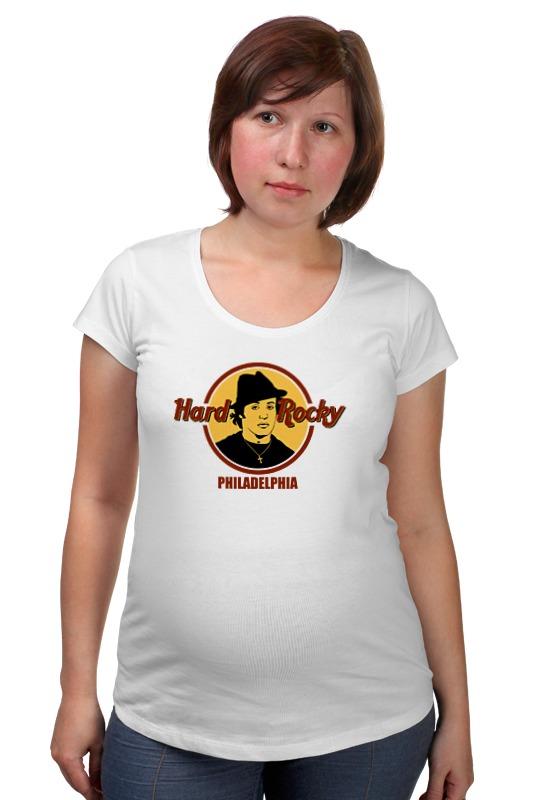 Футболка для беременных Printio Hard rocky товары для беременных