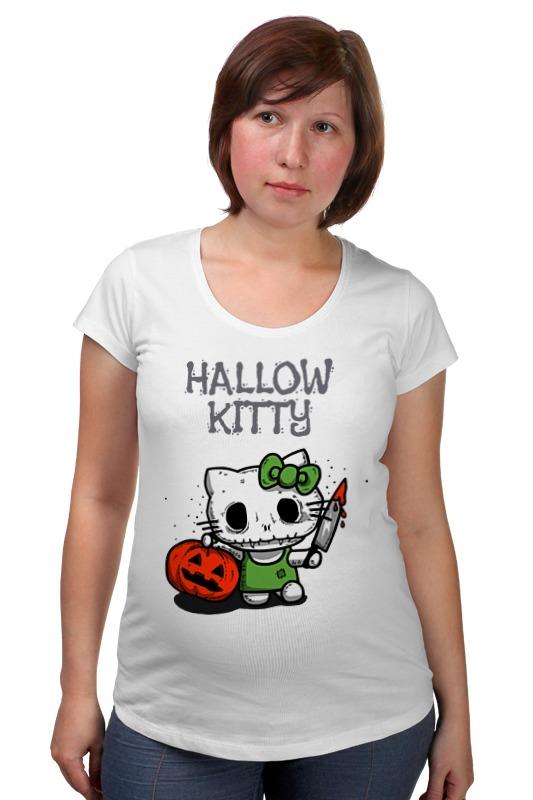 Футболка для беременных Printio Hallow kitty футболка для беременных printio kitty