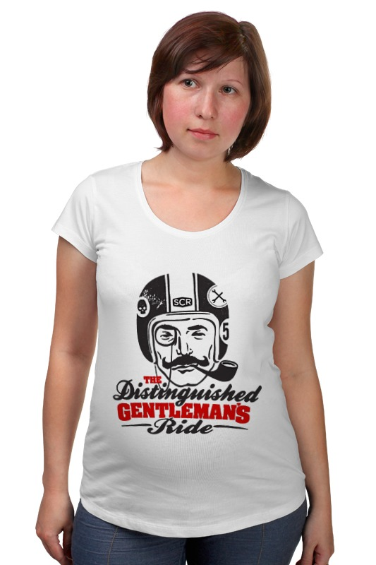 Футболка для беременных Printio The distinguished gentleman's ride футболка для беременных printio bring me the horizon