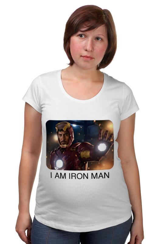 Футболка для беременных Printio Железный человек футболка для беременных printio железный человек
