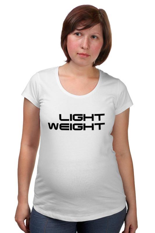 Футболка для беременных Printio Light weight футболка для беременных printio elements of harmony