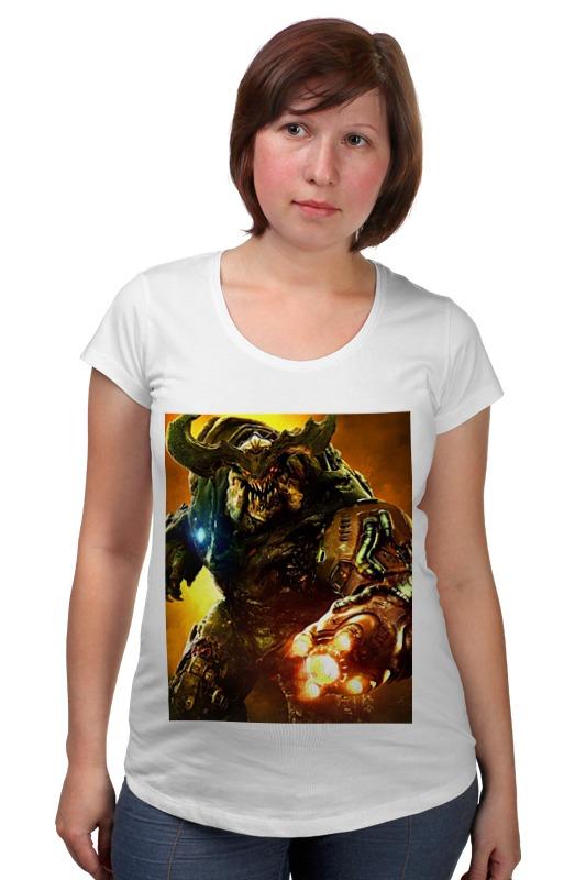 Футболка для беременных Printio Doom 4 футболка для беременных printio россия украина