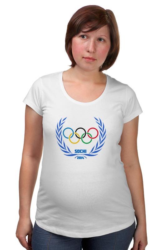 Футболка для беременных Printio Sochi 2014