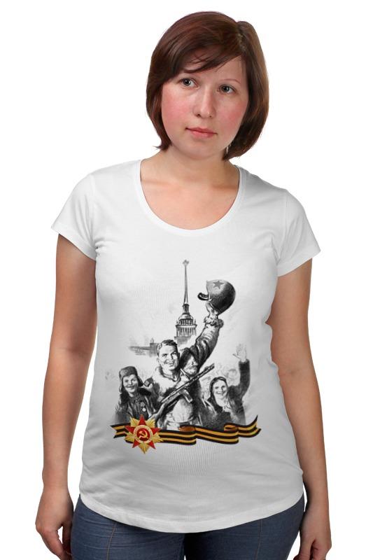 Футболка для беременных Printio Боец и радостные дети футболка для беременных printio неизвестный солдат