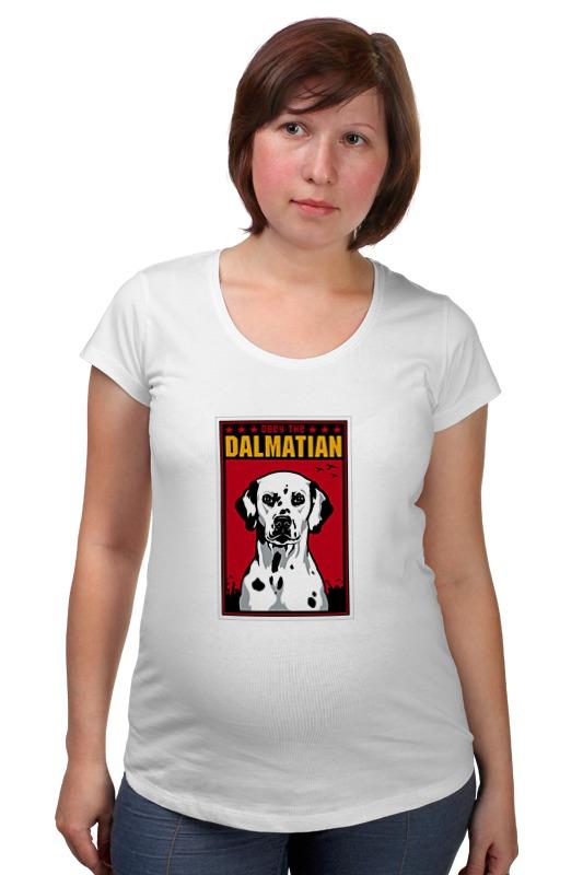 Футболка для беременных Printio Собака: dalmatian футболка для беременных printio любить всех