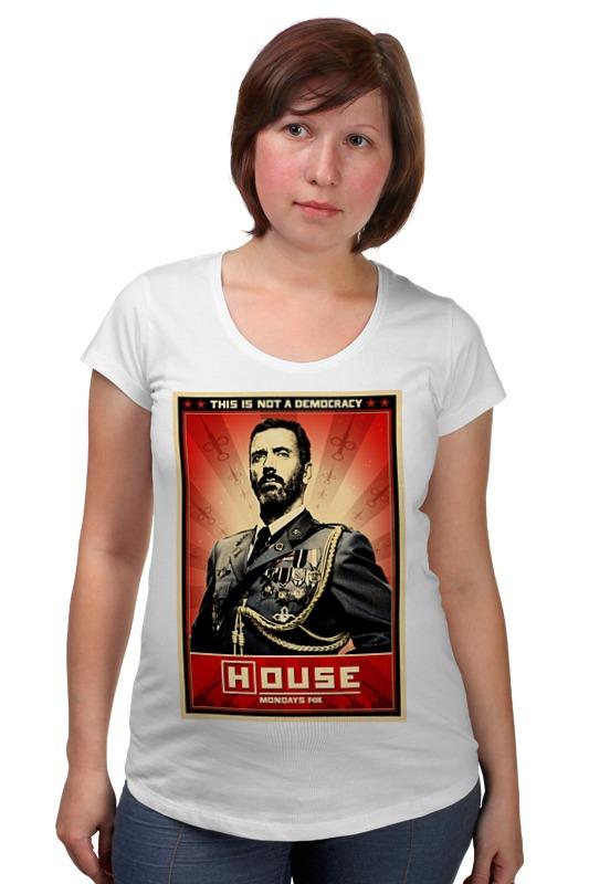 Футболка для беременных Printio Доктор хаус / house футболка для беременных printio house of pain