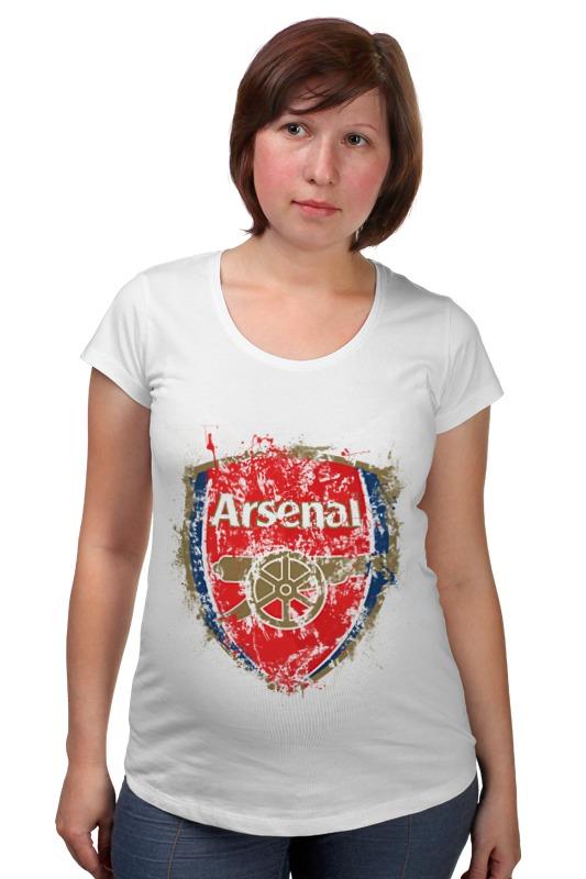 Футболка для беременных Printio Арсенал футболка для беременных printio жарю лучше всех