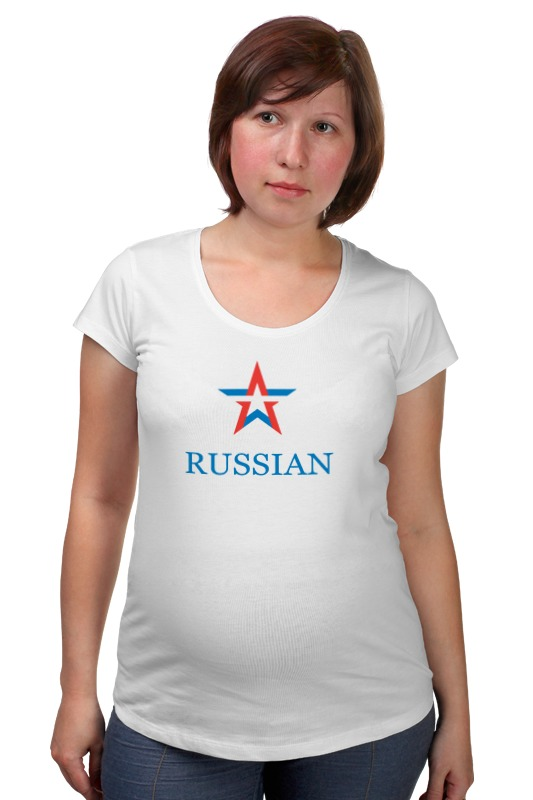 Футболка для беременных Printio Russian army футболка для беременных printio html5
