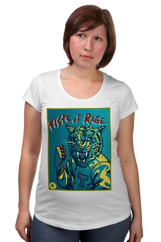 Футболка для беременных Printio Fists of rage футболка для беременных printio elements of harmony