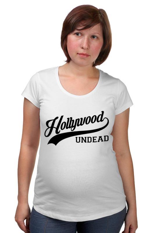 Футболка для беременных Printio Hollywood undead спорт футболка стрэйч printio hollywood undead