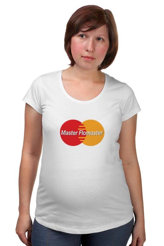 Футболка для беременных Printio Master card прибор рн для определения в организме человека купить