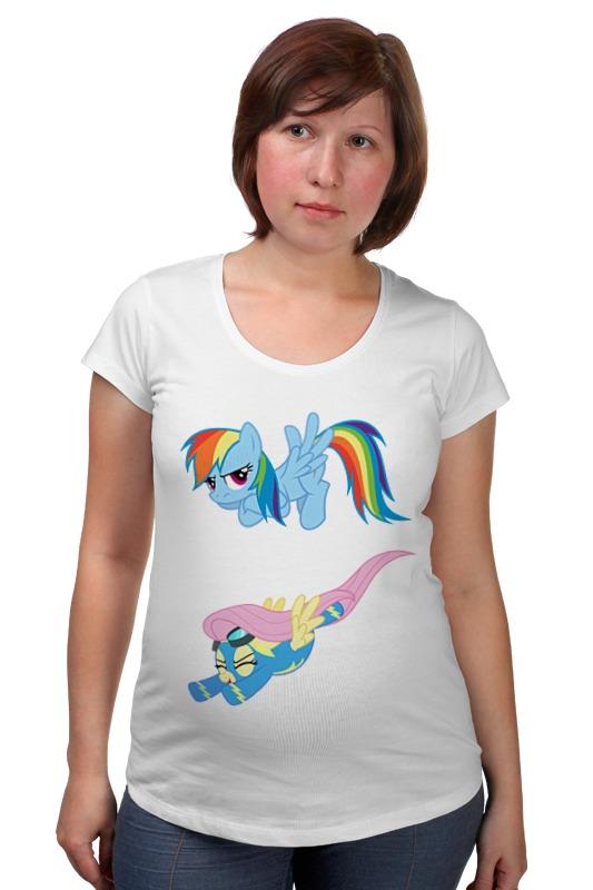 Футболка для беременных Printio My little pony friendship is magic футболка для беременных printio my little pony obey
