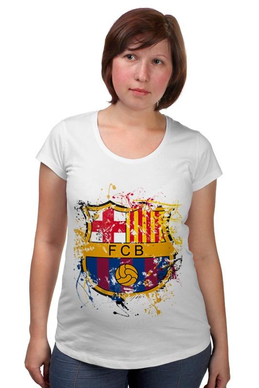 Футболка для беременных Printio Барселона футболка для беременных printio любить всех