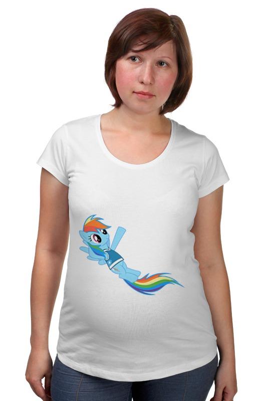 Футболка для беременных Printio My little pony футболка для беременных printio my little pony obey