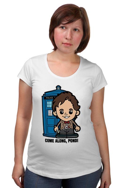 Футболка для беременных Printio Time lord (доктор кто) футболка для беременных printio time lord доктор кто