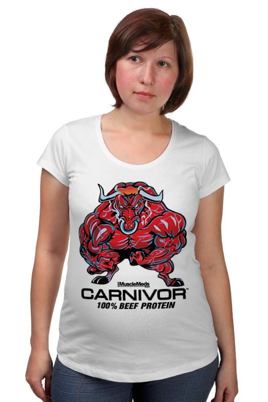 Футболка для беременных Printio Bull bodybuilder футболка для беременных printio elements of harmony