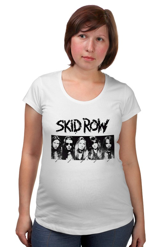 Футболка для беременных Printio Skid row футболка классическая printio saints row игра профессор генки