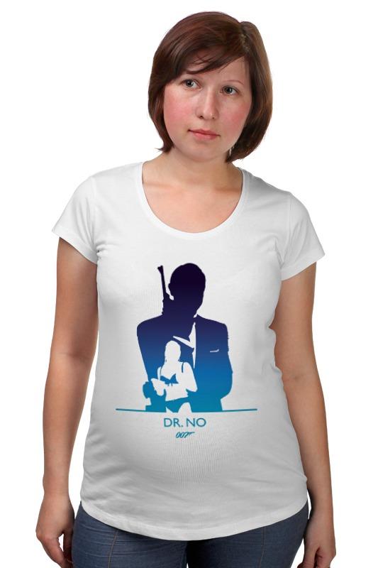Футболка для беременных Printio 007: доктор но футболка для беременных printio property of a lady 007