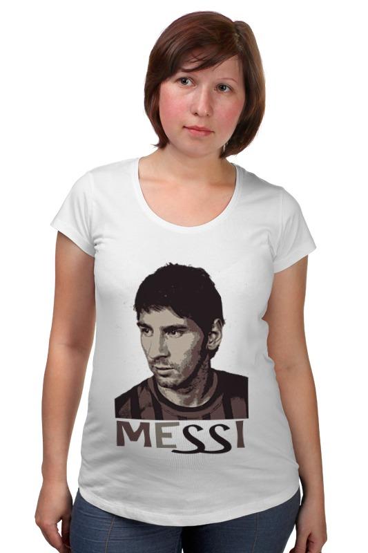 Футболка для беременных Printio Messi футболка классическая printio messi