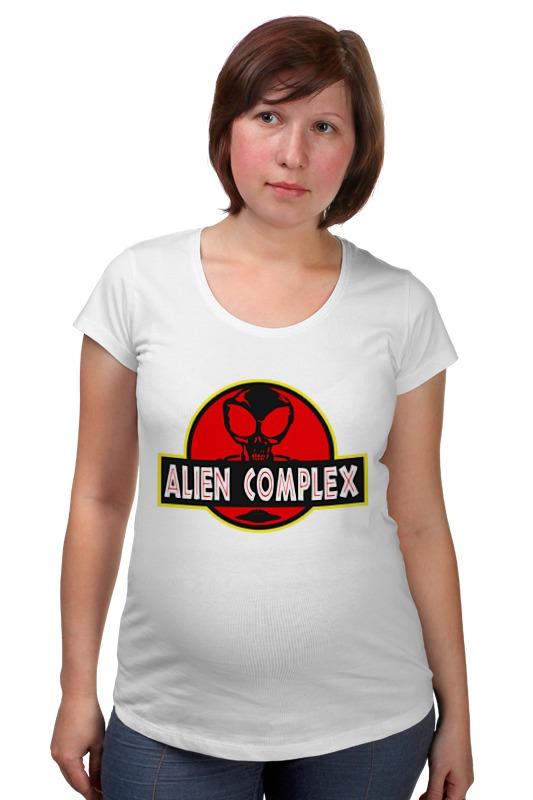 Футболка для беременных Printio Инопланетянин товары для беременных