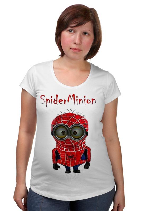 Футболка для беременных Printio Spider minion лонгслив printio spider minion