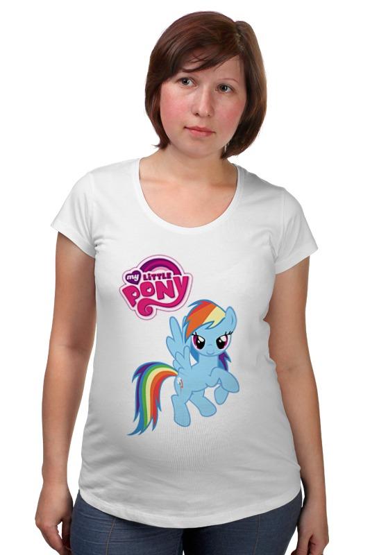 Футболка для беременных Printio My little pony girl футболка для беременных printio my little pony obey
