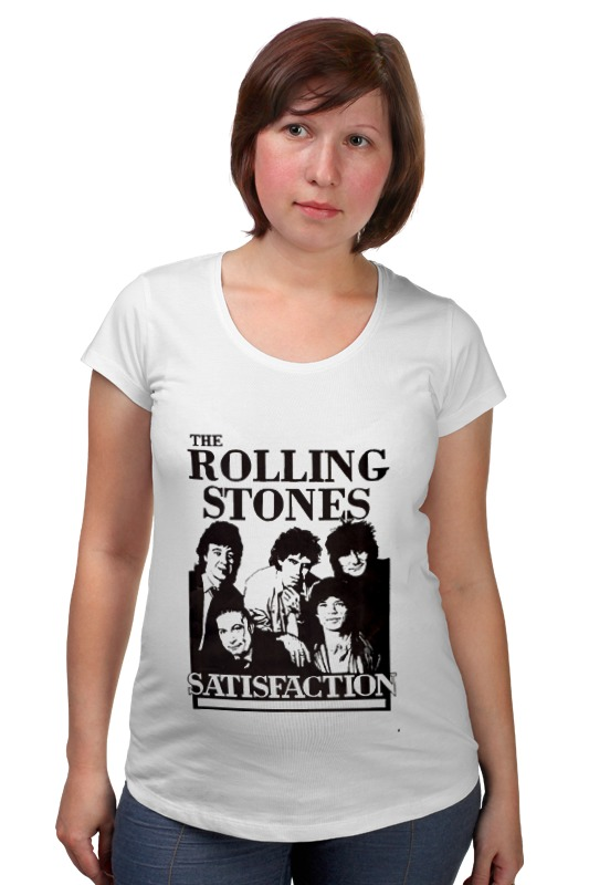 Футболка для беременных Printio The rolling stones рубашка поло printio the rolling stones