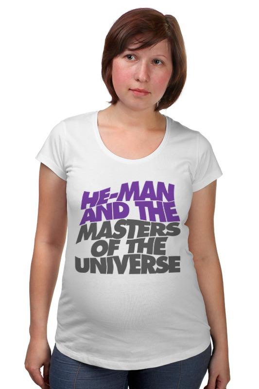 Футболка для беременных Printio Хи-мен футболка wearcraft premium slim fit printio батрос хи мен