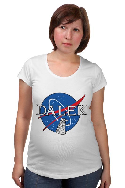 Футболка для беременных Printio Далеки (доктор кто) футболка рингер printio доктор кто doctor who
