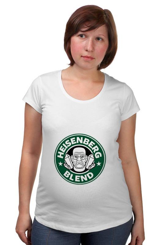 Футболка для беременных Printio Heisenberg blend футболка для беременных printio elements of harmony